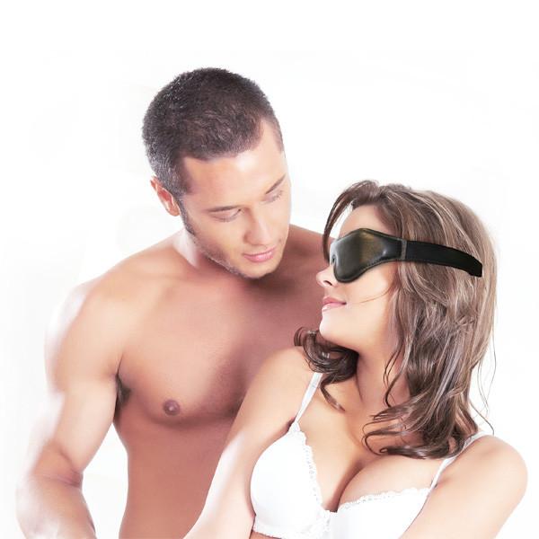 Sportsheets Læder Blindfold