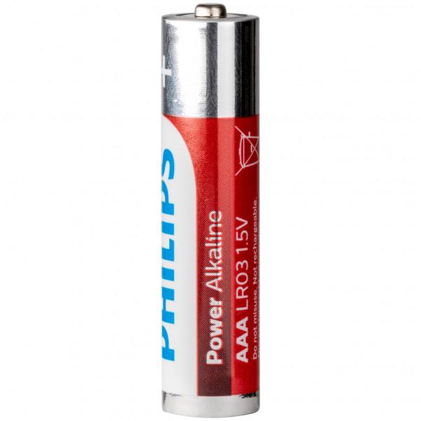 Philips LR03 AAA Alkaline Batterier 4 stk.  100