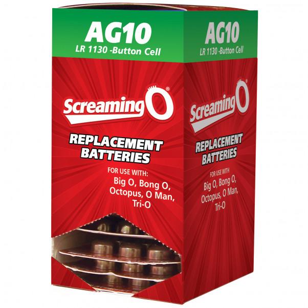 Screaming O Batterier AG10 LR1130 6 stk
