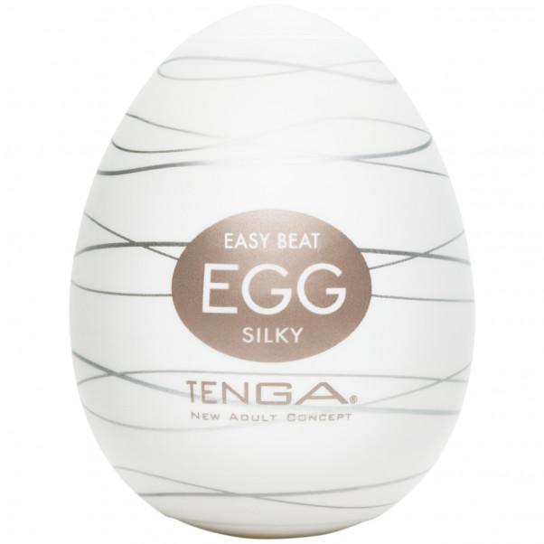 TENGA Egg Silky Onani Håndjobb for Menn produkt i hånd 1