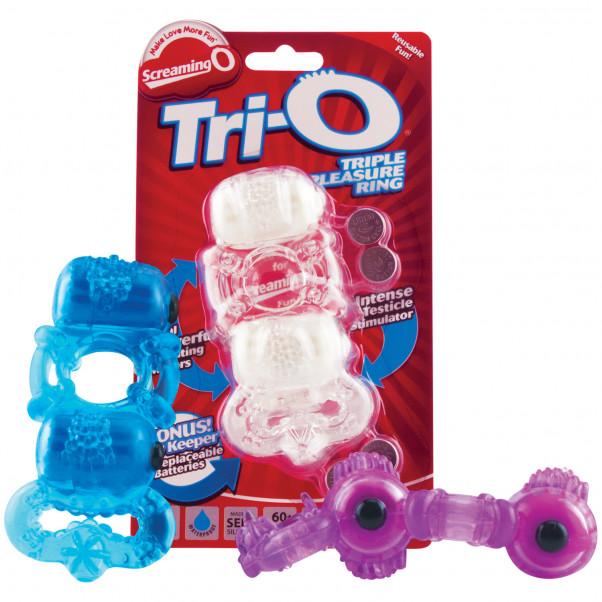 Screaming O TriO Dobbel Vibratorring  3
