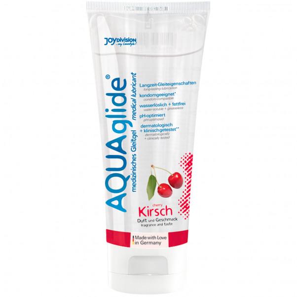 Aquaglide Glidemiddel med Smak 100 ml - PRISVINNER  3