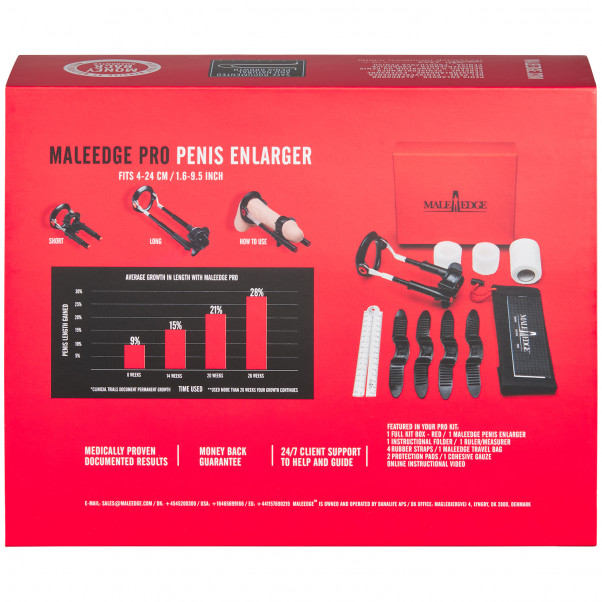 Male Edge Pro Penisforstørrer bilde av emballasje 90