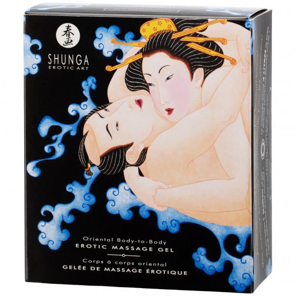 Shunga Body Slide Massasjegelé-sett 2 x 225 ml  10