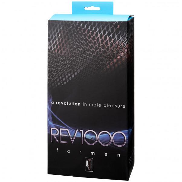 REV1000 Roterende Masturbator for Menn bilde av emballasje 90