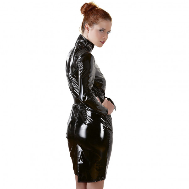 Black Level Lakk Dress   2