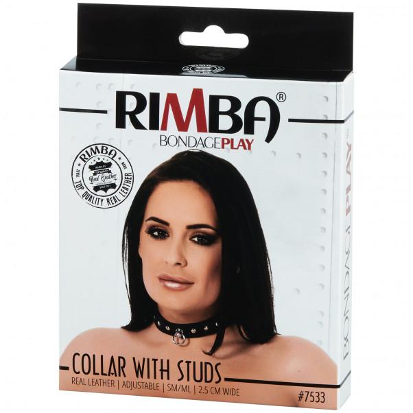 Rimba Halsbånd i Skinn bilde av emballasje 90