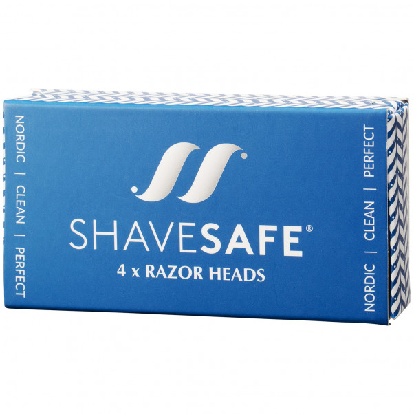 ShaveSafe Razor Super Barberblader 4 stk  100