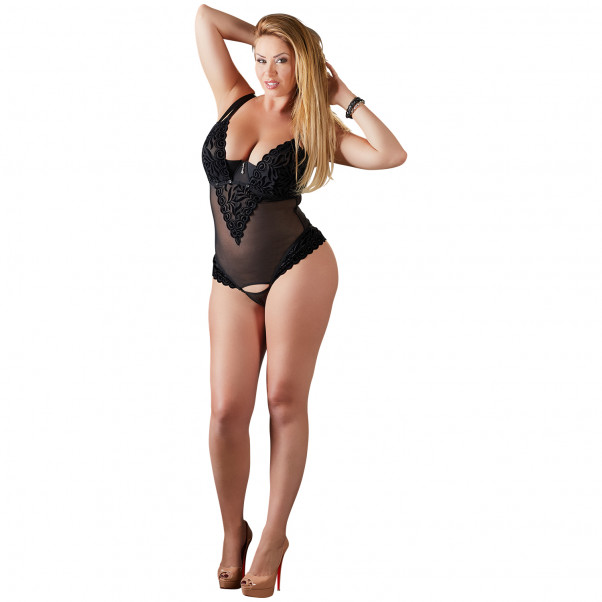 Cottelli Bodystocking med Half-Cup   1