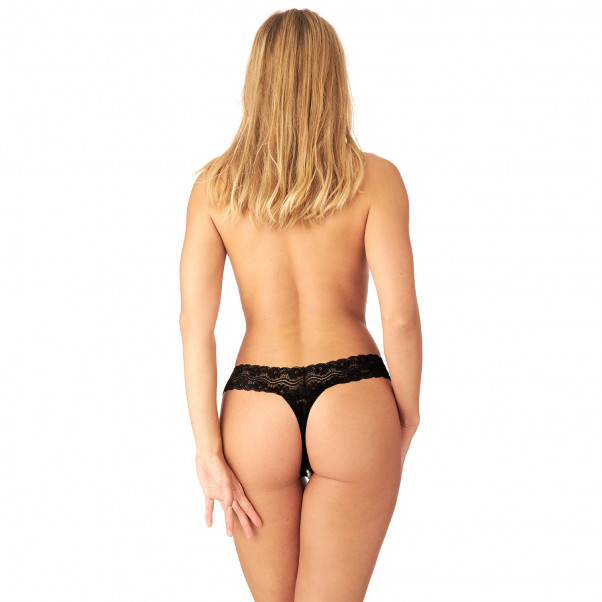 Nortie Malin Bunnløs Orgasme Perle G-Streng produkt på modell 3