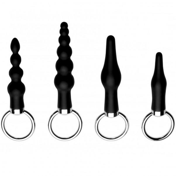 Master Series Ringed Rimmers Analpluggsett  1