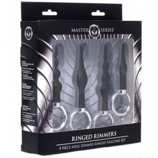 Master Series Ringed Rimmers Analpluggsett  3