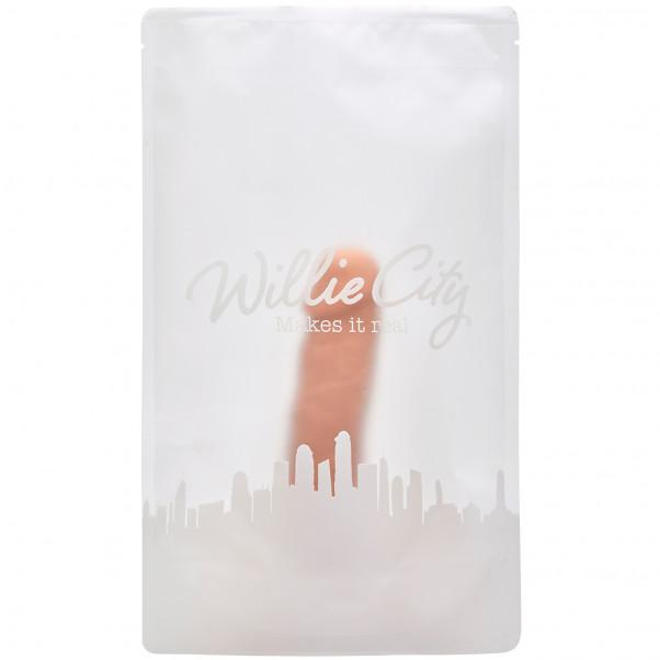 Willie City Luxe Superrealistisk Silikondildo 20 cm  6