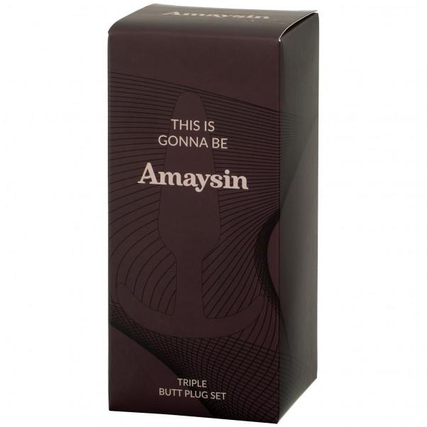 Amaysin Triple Butt Plug Sett bilde av emballasje 90