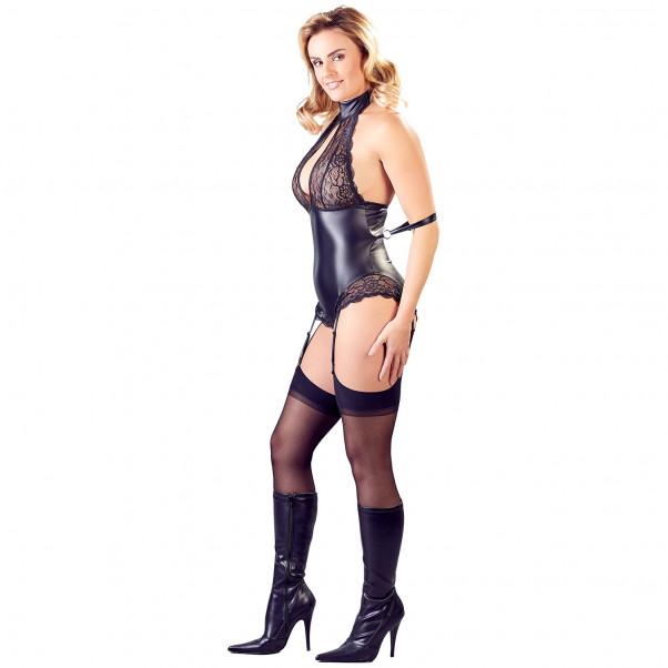 Cottelli Collection Bondage Body med Strømpeholder  3