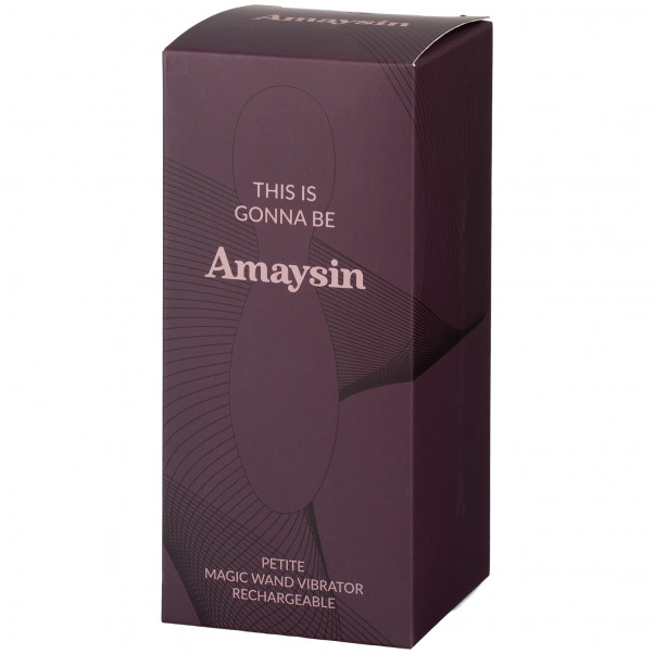 Amaysin Petite Magic Wand Oppladbar Vibrator bilde av emballasje 90