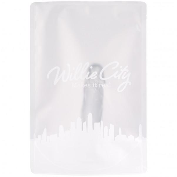 Willie City Gjennomsiktig Realistisk Dildo med Sugekopp 15 cm 90