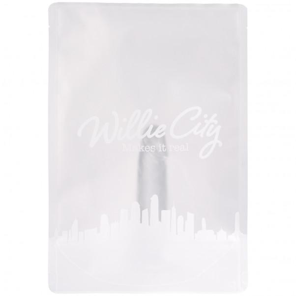 Willie City Gjennomsiktig Realistisk Dildo med Sugekopp 13 cm 90