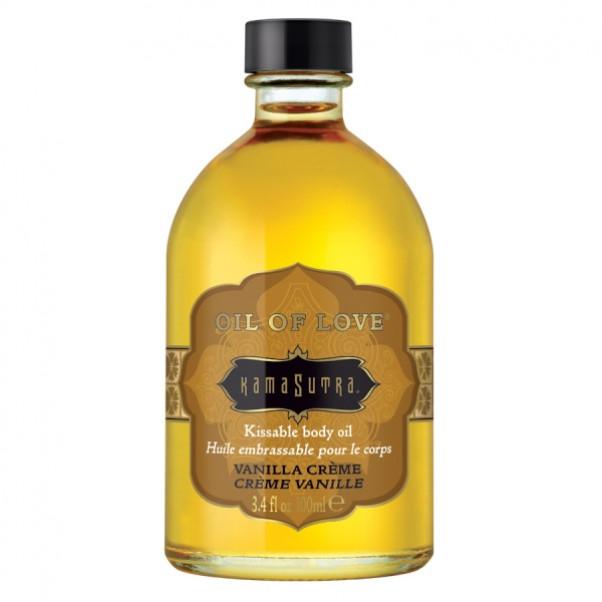 Kama Sutra Oil of Love Body Olie Med Smag 100 ml.