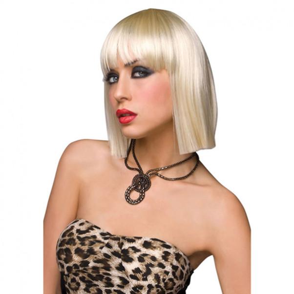 Blond parykk 1