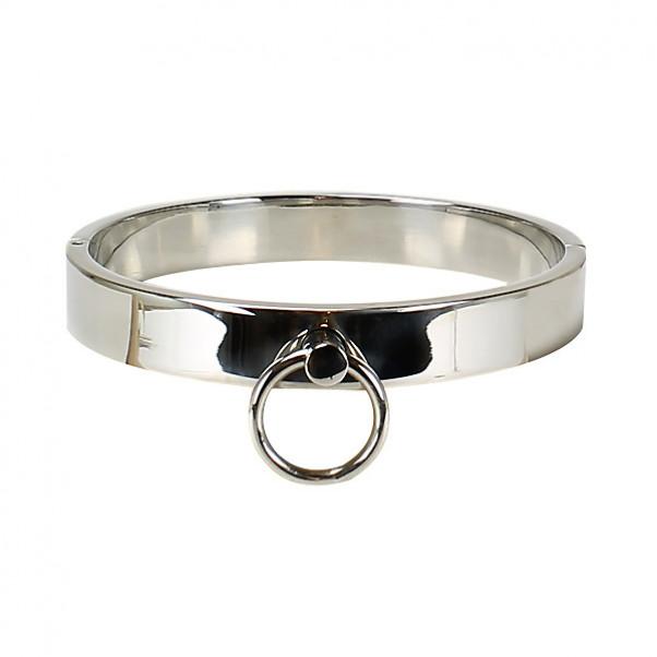 Slave Metal Halsbånd Med O-ring
