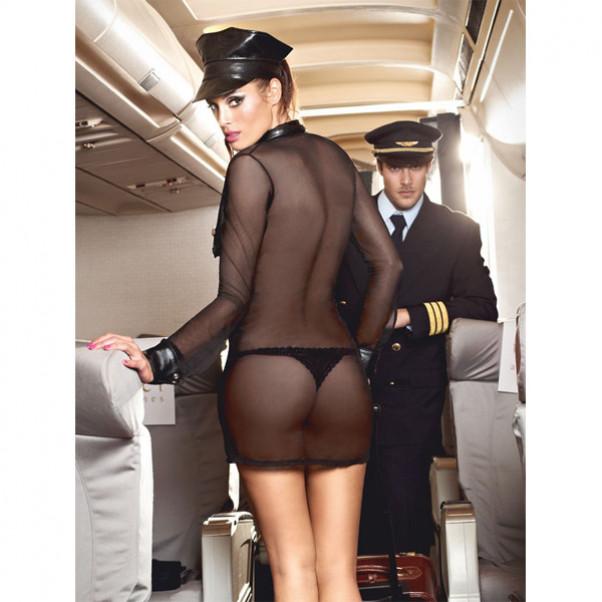 Baci stewardesse uniform