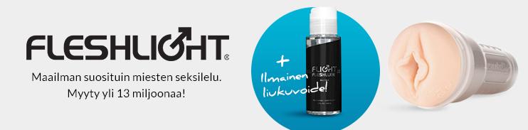 Ilmainen Flightlube-liukuvoide ostaessasi Fleshlightin