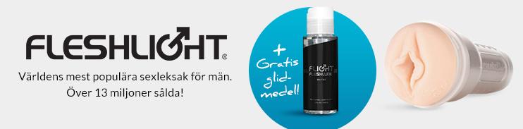 Fleshlight gratis glidmedel